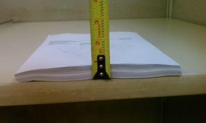 thickness of one fiberglass swimming pool permit pack