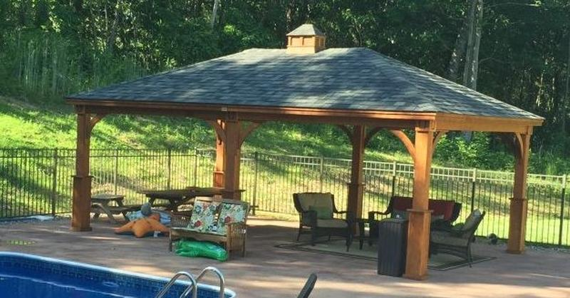 Installing A Pavilion On Your Pool Deck